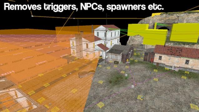 Инструмент удаление ненужных элементов с карты