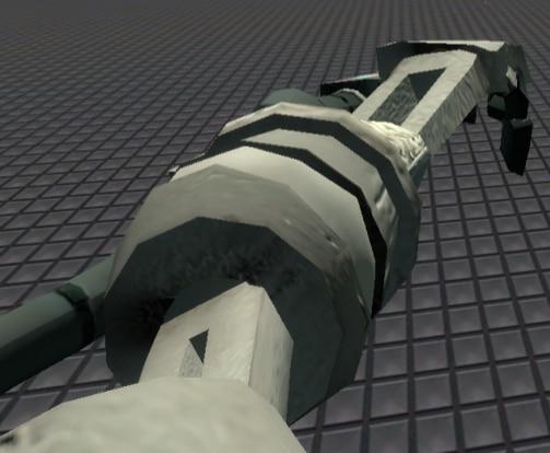 Плеер модель male_09 с роботизированной рукой